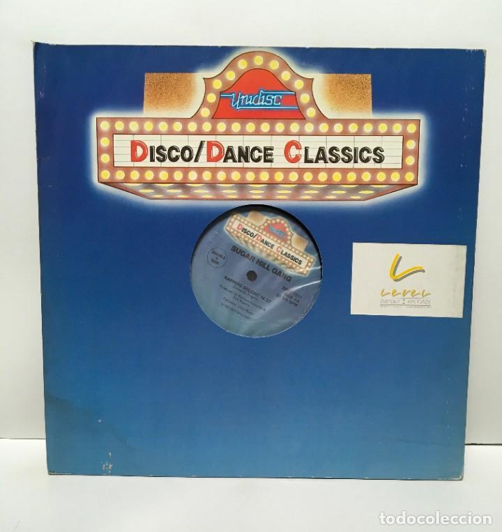 GRANDMASTER FLASH & THE FURIOUS FIVE / SUGAR HILL GANG – THE MESSAGE / RAPPERS DELIGHT - 1987 (Música - Discos de Vinilo - Maxi Singles - Rap / Hip Hop)