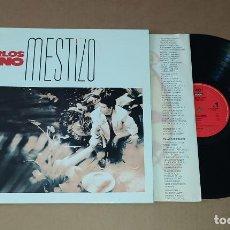 Discos de vinilo: LP CARLOS CANO - MESTIZO. Lote 226499615