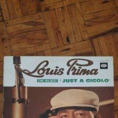 """Discos de vinilo: LOUIS PRIMA – THE WILDEST """"JUST A GIGOLO"""" SELLO: CAPITOL RECORDS – 2C 062 - 80271 FORMATO: VINYL. Lote 226562025"""