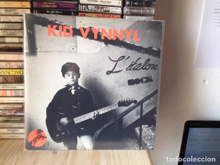 Discos de vinilo: KID VYNNYL - LÉTALON ROCK (PUNK) ULTRARARE LP VINYL BATMAN RECORDS 1988 SUISSE. VG+/ MINT - Foto 2 - 226563416