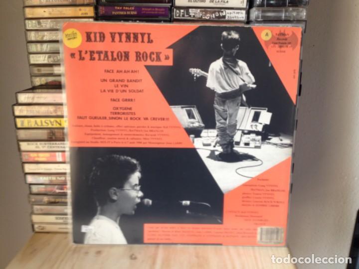 Discos de vinilo: KID VYNNYL - LÉTALON ROCK (PUNK) ULTRARARE LP VINYL BATMAN RECORDS 1988 SUISSE. VG+/ MINT - Foto 3 - 226563416