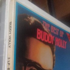 Discos de vinilo: THE BEST OF BUDDY HOLLY-3 LP BOX#. Lote 226568590