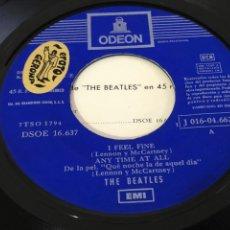 Discos de vinilo: THE BEATLES EP I FEEL FINE +3 DOBLE REFERENCIA.. Lote 226572690