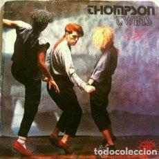 Discos de vinilo: THOMPSON TWINS (SINGLE 1982) LIES - BEACH CULTURE. Lote 226574095