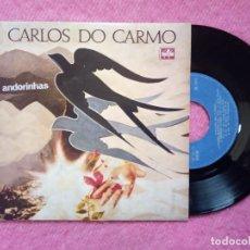 Discos de vinilo: EP CARLOS DO CARMO - POMBA BRANCA +2 - ANDORINHAS - TE 1111 - PORTUGAL PRESS (EX/NM). Lote 226580690