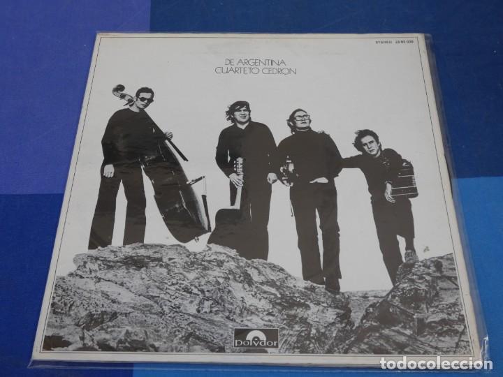 EXPRO LP ESPAÑA 1972 CUARTETO CEDRON DE ARGENTINA MUY BUEN ESTADO GATEFOLD (Música - Discos - LP Vinilo - Rock & Roll)