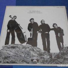 Discos de vinilo: EXPRO LP ESPAÑA 1972 CUARTETO CEDRON DE ARGENTINA MUY BUEN ESTADO GATEFOLD. Lote 226584432