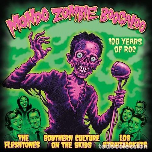 THE FLESHTONES/ SOUTHERN CULTURE ON THE SKIDS/ LOS STRAITJACKETS – MONDO ZOMBIE BOOGALOO -2 LP+CD- (Música - Discos - LP Vinilo - Punk - Hard Core)