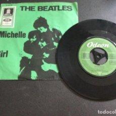 Discos de vinilo: THE BEATLES - MICHELLE/ GIRL. Lote 226604165