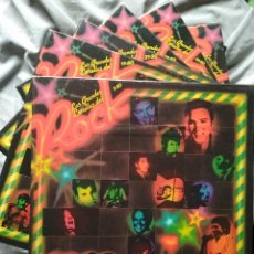 Discos de vinilo: LAS GRANDES ESTRELLAS DEL ROCK. COLECCION 60 LPS. Lote 226610480