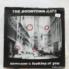 Discos de vinilo: BOOMTOWN RATS - SOMEONE'S LOOKING AT YOU - SINGLE ENSIGN UK 1979. Lote 226617180