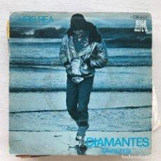 Discos de vinilo: CHRIS REA - DIAMONDS / CLEVELAND CALLING - SINGLE EMI 1979. Lote 226618160