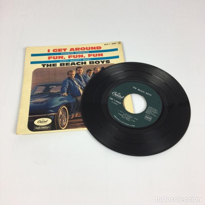 """Discos de vinilo: EP 7"""" - THE BEACH BOYS - I Get Around (Francia, 1964) - Foto 3 - 226621135"""