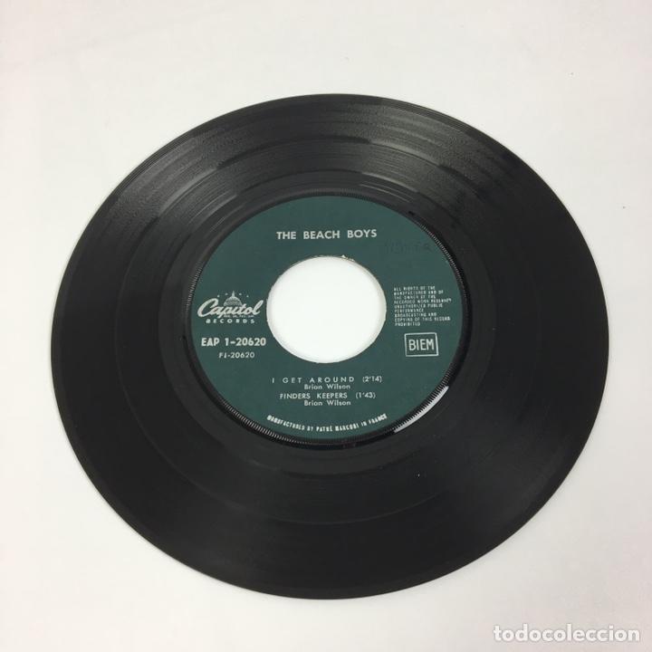 """Discos de vinilo: EP 7"""" - THE BEACH BOYS - I Get Around (Francia, 1964) - Foto 4 - 226621135"""