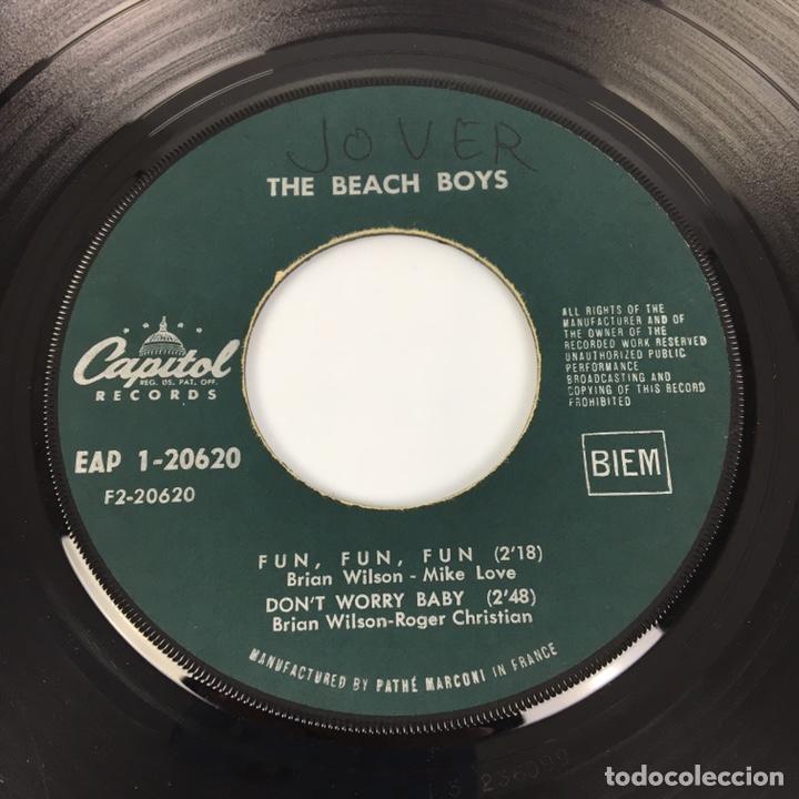 """Discos de vinilo: EP 7"""" - THE BEACH BOYS - I Get Around (Francia, 1964) - Foto 7 - 226621135"""