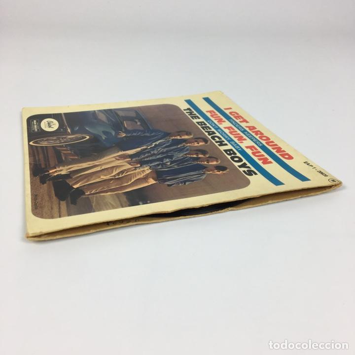 """Discos de vinilo: EP 7"""" - THE BEACH BOYS - I Get Around (Francia, 1964) - Foto 10 - 226621135"""