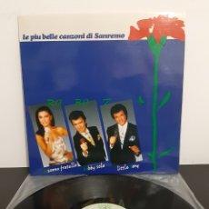 Discos de vinilo: ROBOT. LAS MÁS BELLAS CANCIONES DE SANREMO. 1988. SPAIN. L3. Lote 226632000