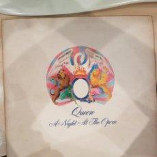 Discos de vinilo: QUEEN - EDICIÓN ORIGNAL INGLESA - UNA NOCHE EN LA OPERA. Lote 226639440