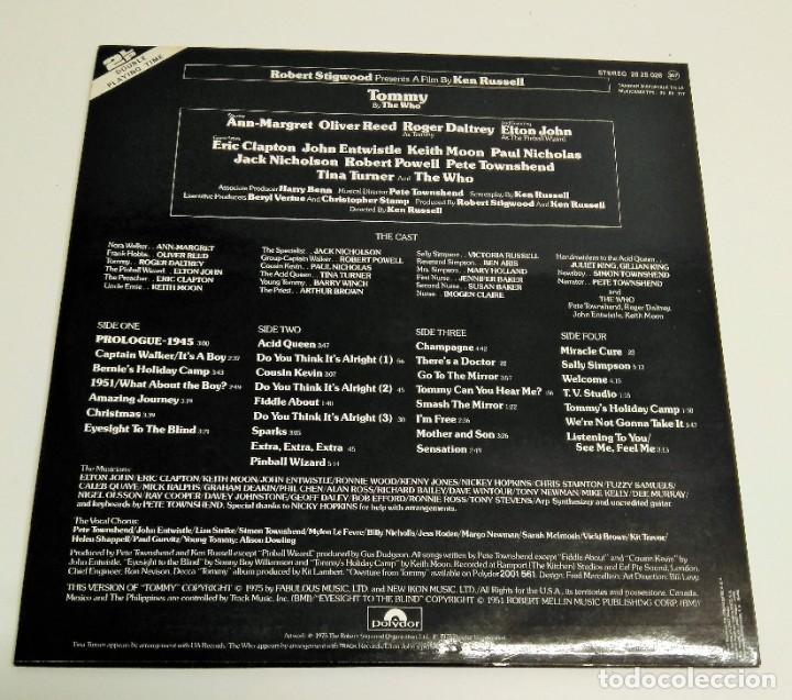 Discos de vinilo: Tommy (Banda Sonora Original De La Película) - Foto 2 - 226639465