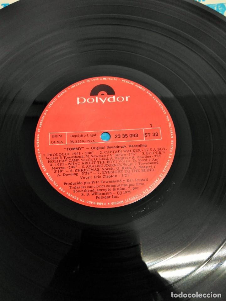 Discos de vinilo: Tommy (Banda Sonora Original De La Película) - Foto 3 - 226639465