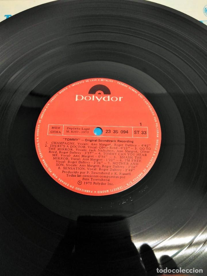 Discos de vinilo: Tommy (Banda Sonora Original De La Película) - Foto 5 - 226639465