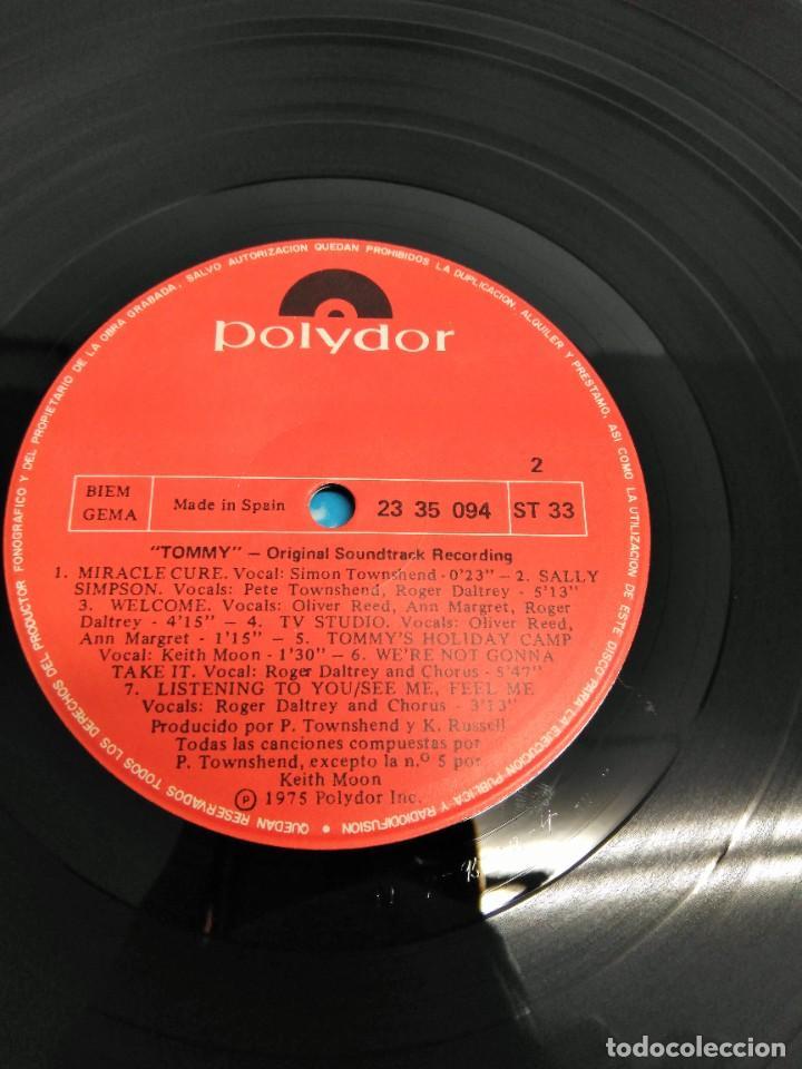 Discos de vinilo: Tommy (Banda Sonora Original De La Película) - Foto 6 - 226639465