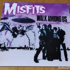 Disques de vinyle: MISFITS - WALK AMONG US (LP REEDICIÓN) NUEVO SIN ESTRENAR. Lote 226651700