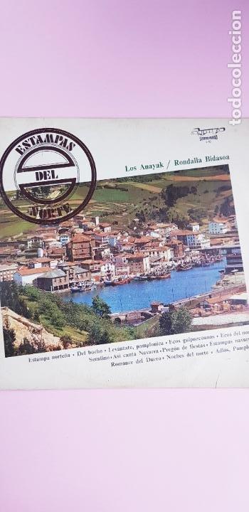 Discos de vinilo: LP-ESTAMPAS DEL NORTE-LOS ANAYAK Y RONDALLA BIDASOA-1972-OLIMPO- - Foto 3 - 226656040