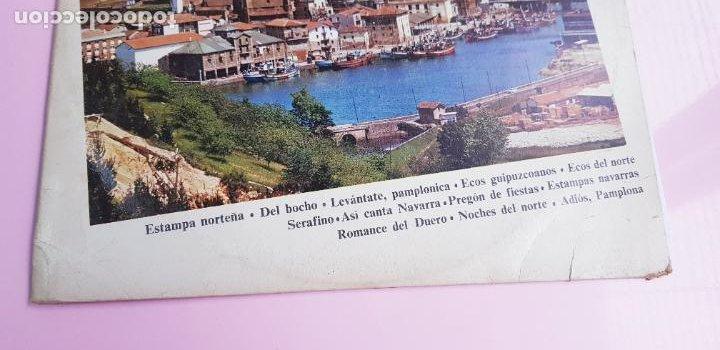 Discos de vinilo: LP-ESTAMPAS DEL NORTE-LOS ANAYAK Y RONDALLA BIDASOA-1972-OLIMPO- - Foto 4 - 226656040