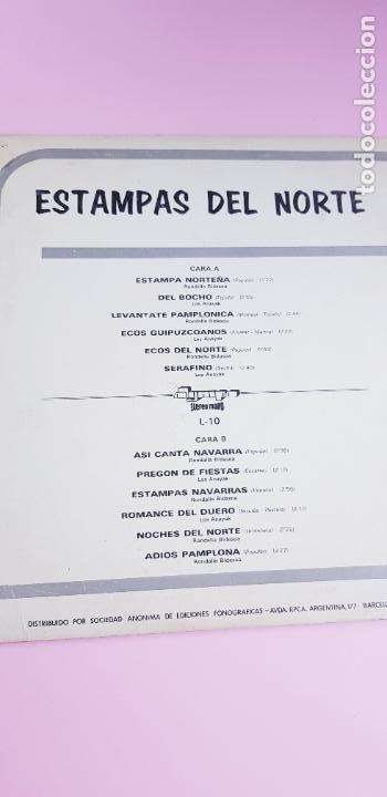 Discos de vinilo: LP-ESTAMPAS DEL NORTE-LOS ANAYAK Y RONDALLA BIDASOA-1972-OLIMPO- - Foto 5 - 226656040