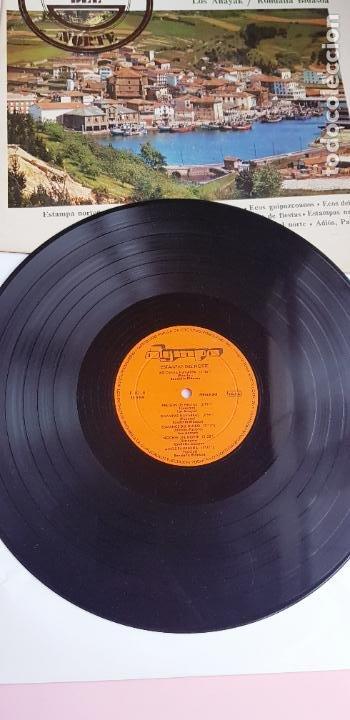 Discos de vinilo: LP-ESTAMPAS DEL NORTE-LOS ANAYAK Y RONDALLA BIDASOA-1972-OLIMPO- - Foto 8 - 226656040