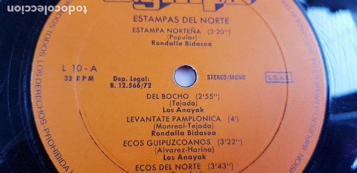 Discos de vinilo: LP-ESTAMPAS DEL NORTE-LOS ANAYAK Y RONDALLA BIDASOA-1972-OLIMPO- - Foto 11 - 226656040