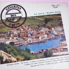 Discos de vinilo: LP-ESTAMPAS DEL NORTE-LOS ANAYAK Y RONDALLA BIDASOA-1972-OLIMPO-. Lote 226656040