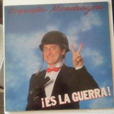 Disques de vinyle: ORQUESTA MONDRAGON-¡ES LA GUERRA! #. Lote 226666250