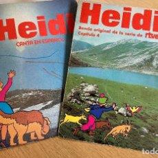 Discos de vinilo: DOS SINGLES HEIDI. Lote 226684370