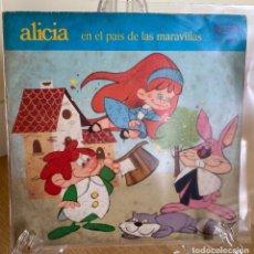 Discos de vinilo: ALICIA EN EL PAIS DE LAS MARAVILLAS. Lote 226688420