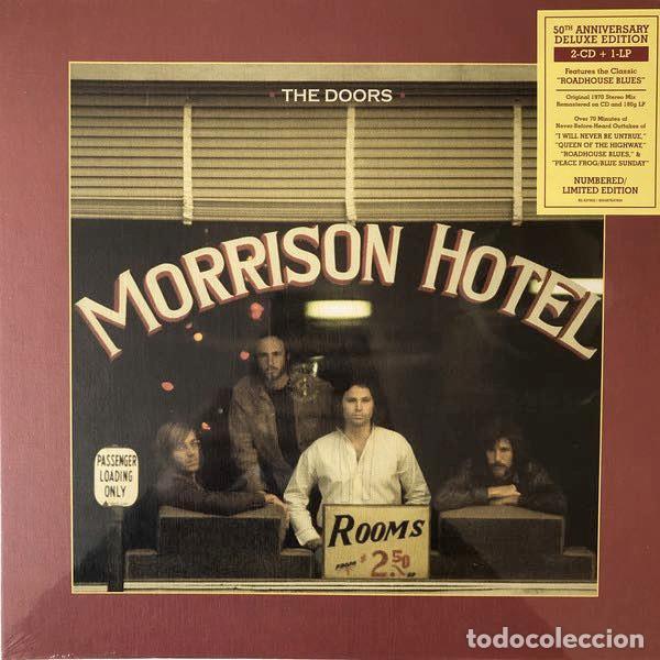 THE DOORS MORRISON HOTEL (LP+2XCD DELUXE EDITION) . ROCK AND ROLL JIM MORRISON (Música - Discos - LP Vinilo - Pop - Rock Extranjero de los 50 y 60)