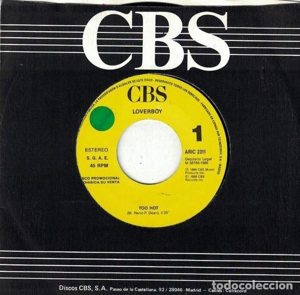 """Discos de vinilo: lote discos 7""""sello CBS en perfecto estado. - Foto 4 - 226704987"""