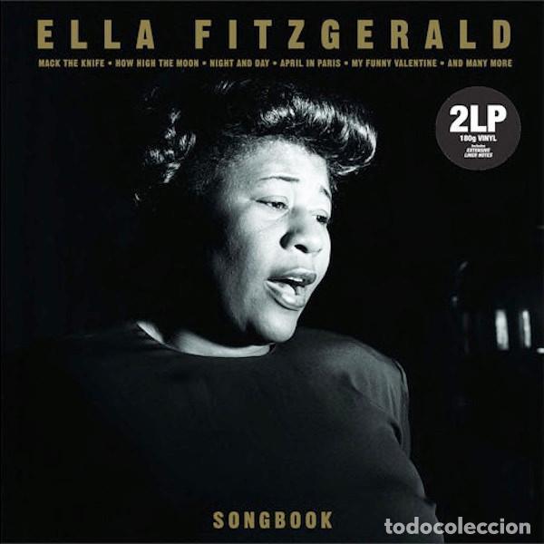 ELLA FITZGERALD SONGBOOK (2XLP) . JAZZ ALBUM VINILO RECOPILACIO (Música - Discos - LP Vinilo - Jazz, Jazz-Rock, Blues y R&B)