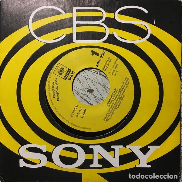 """LOTE 6 DISCOS SELLO CBS 7"""" (Música - Discos - Singles Vinilo - Pop - Rock Extranjero de los 90 a la actualidad)"""