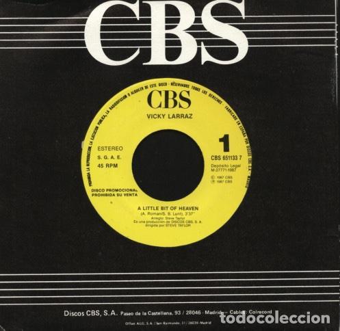 """Discos de vinilo: lote 6 discos sello CBS 7"""" - Foto 5 - 226706610"""
