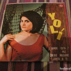 Discos de vinilo: EP YOLI DONDE ESTA? RCA 20704 CHICA YE YE. Lote 226747660