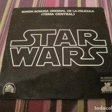 Discos de vinilo: SINGLE STAR WARS GUERRA DE LAS GALAXIAS JOHN WILLIAMS. Lote 226749390