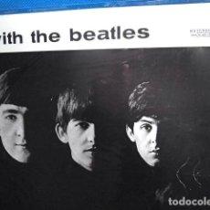 Discos de vinilo: BEATLES ULTIMA RE EDICION EMI ODEON ESPAÑA LETRAS DEL TITULO NEGRAS DIFERENTE COLOR RARO. Lote 226756210