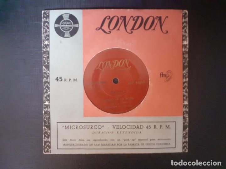 LONDON MANTOVANI Y SU ORQUESTA MICROSURCO COLUMBIA ADIOS MUCHACHOS CHIQUITA MIA CELOS TANGO DE LA R (Música - Discos de Vinilo - Maxi Singles - Otros estilos)