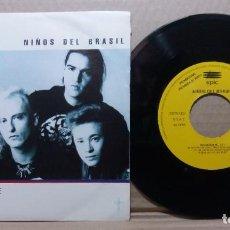 Disques de vinyle: NIÑOS DEL BRASIL / RECUERDAME / SINGLE 7 INCH. Lote 226767730