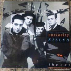 Discos de vinilo: CURIOSITY KILLED THE CAT - KEEP YOUR DISTANCE . LP . 1987 HOLANDA. Lote 226767965