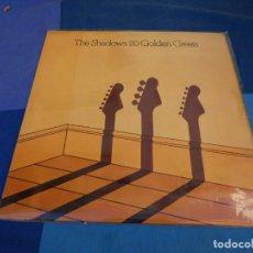 Discos de vinilo: EXPRO LP THE SHADOWS 20 GOLDEN GREATS UK CA 1975 BUEN ESTADO. Lote 226772030