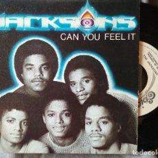 Discos de vinilo: THE JACKSONS - CAN YOU FEEL IT. SINGLE PROMOCIONAL ED. ESPAÑOLA. Lote 226773141