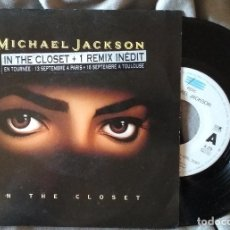Discos de vinilo: MICHAEL JACKSON - IN THE CLOSET. SINGLE ED. HOLANDESA. Lote 226775710